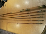Hardy Cholmondeley Pennell Greenheart Combination Rod