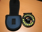 Greys GX500 Fly Reel + Spare Sppol, Line and Pouch