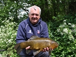 A 10lb tench with a little help from Fred J