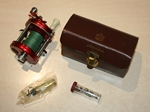 ABU 6000 Vintage in Immaculate Condition with Spares, Oil Dropper in Leather Pouch
