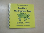 Freddie, the Fearless Frog (Signed copy)