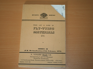 Fly Tying Materials Etc