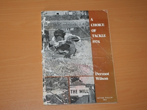 A Choice of Tackle 1974